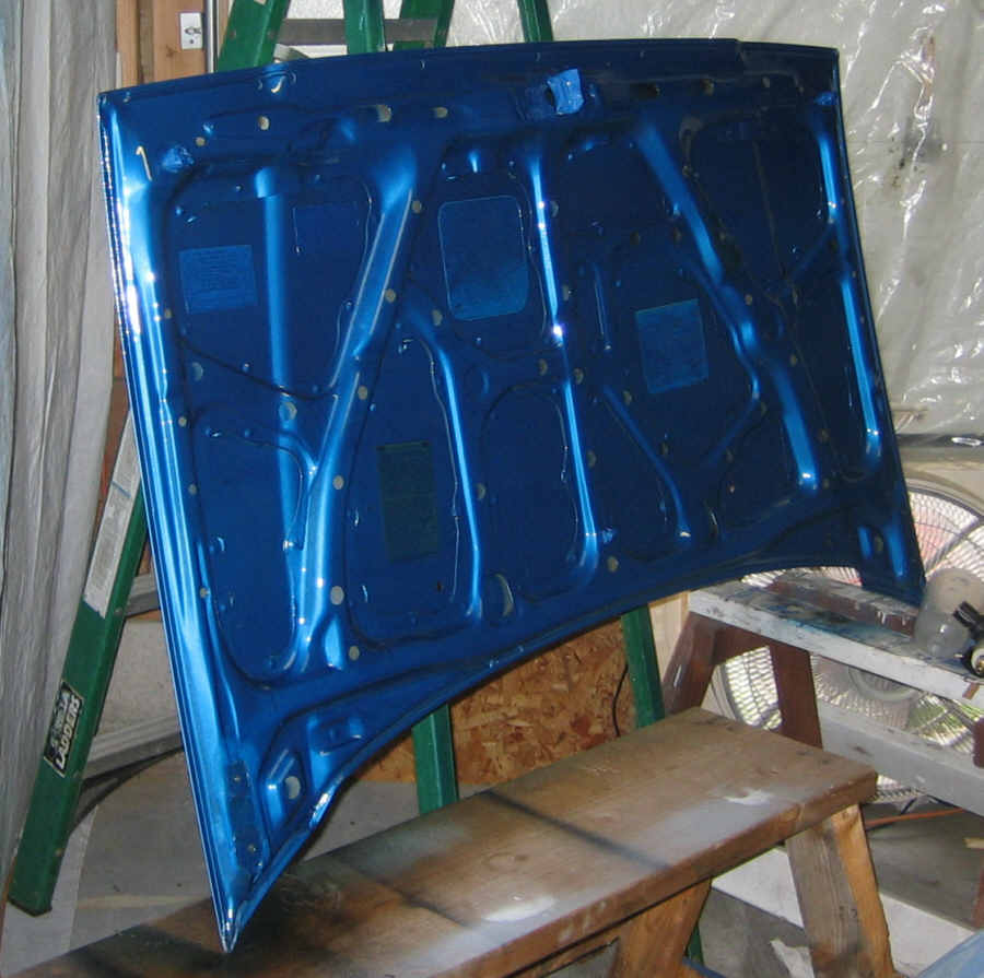 How to spray clear coat without orange peel - Clearhood Jpg
