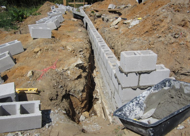 How To Lay A Foundation For A House Architectural Designs