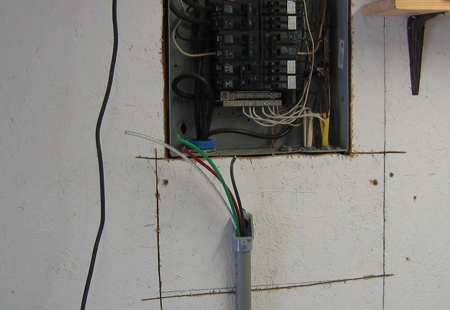 installing solar panels again rh crodog org switched wall outlet wiring basic wiring wall outlets
