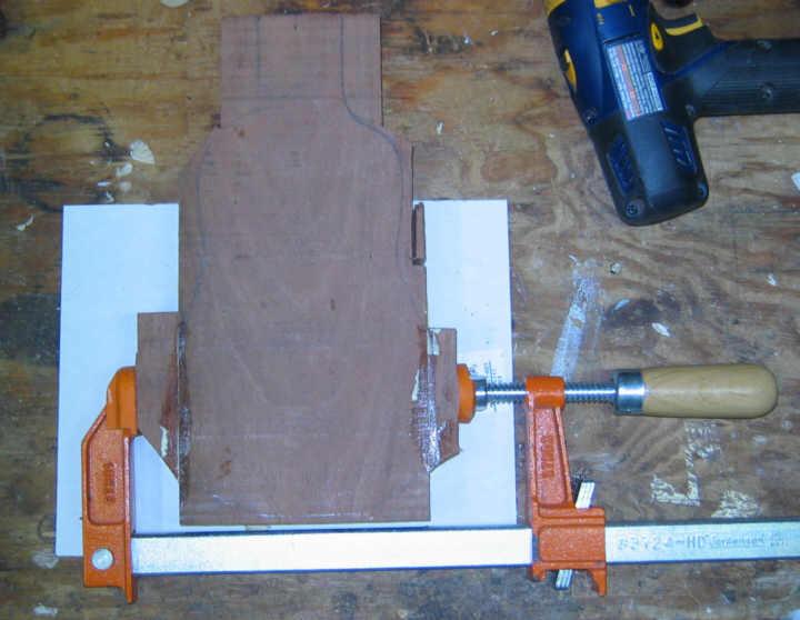 Como Construir una Guitarra eléctrica de viaje !