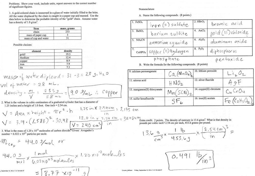 Prentice Hall Chemistry Chapter 28 Answer Key